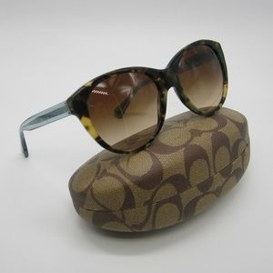 72a45e2b62d Coach Accessories - Coach HC8064 (L060 Audrey) Sunglasses STL549